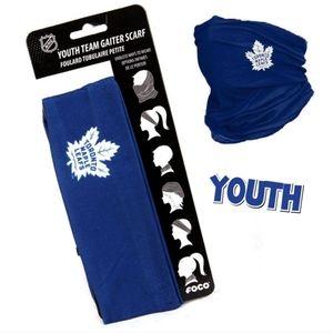 NHL Toronto Maple Leafs Neck Gaiter Youth NEW!